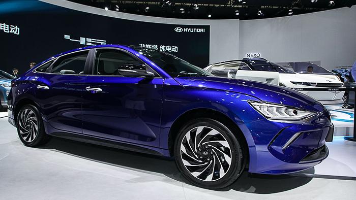 Hyundai Elantra EV ra mắt tại Trung Quốc: Xe