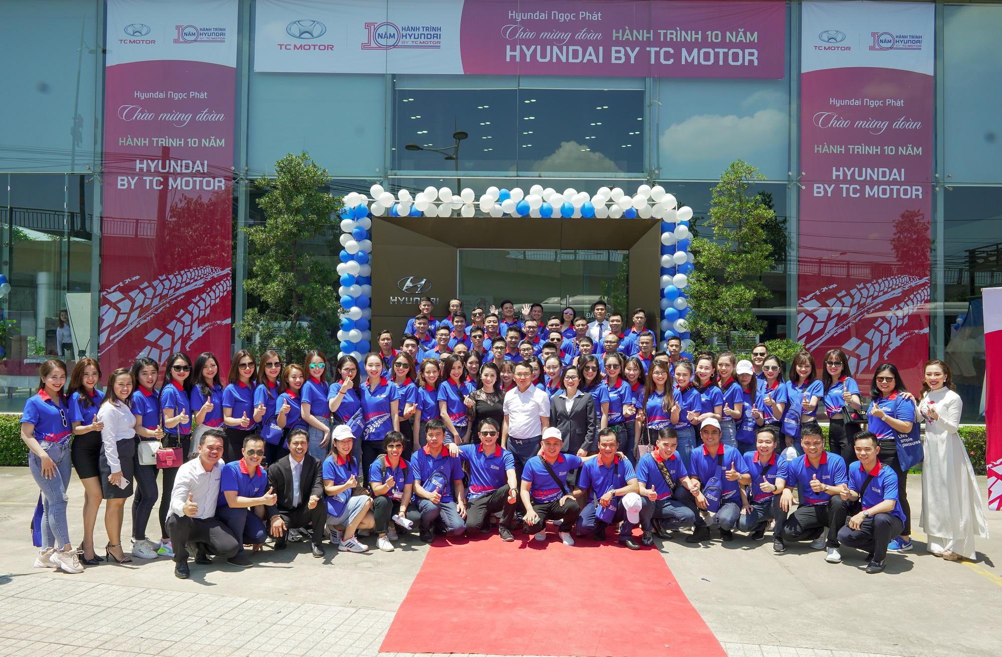 Hyundai Ngọc Phát Chào Mừng Hành Trình Caravan 10 Năm - Hyundai By TC Motor