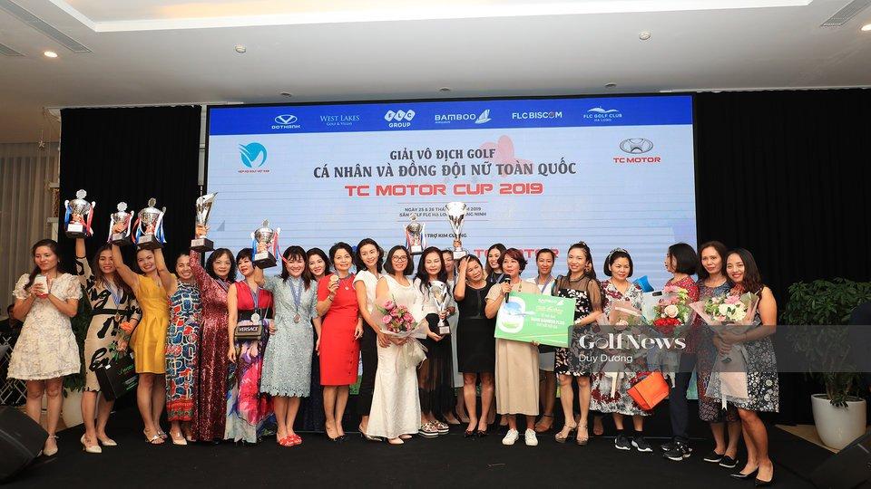 Giải Vô địch Cá nhân và Đồng đội nữ Toàn quốc – TC Motor Cup 2019: Chức vô địch gọi tên Vũ Thị Vân và FLC Bamboo